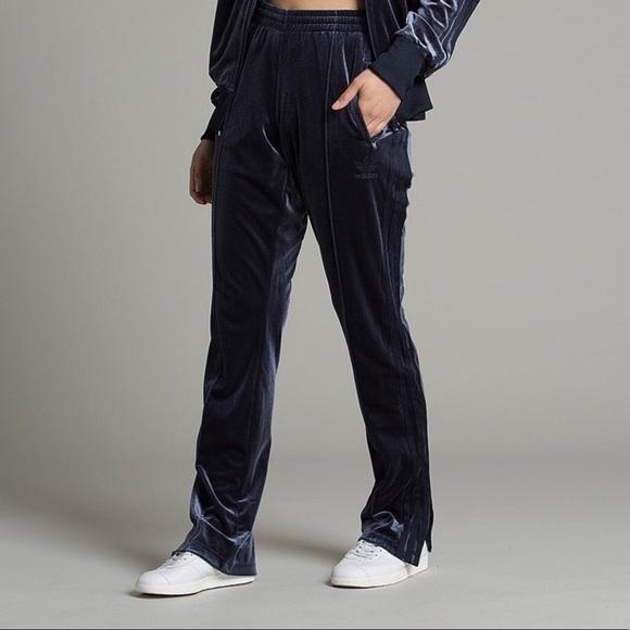 66721648394 adidas Pants | Originals Womens Firebird Velour Track Pant | Poshmark